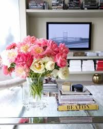 coffee table floral arrangements roses for dinner beautiful blooms pinterest