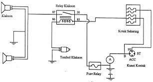 wiring diagram klakson wiring library dnbnor co