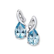 topaz earrings topaz earrings pear cut sterling silver