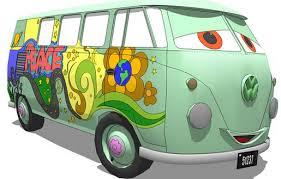 Disney Cars Armchair Disney Cars Hippie Van On 3dwarehouse Http Ow Ly Rtykb