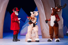 rudolph the nosed reindeer characters rudolph the nosed reindeer the musical stages theatre company
