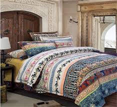 bedding maroon comforter set bohemian duvet ruffle bedspread