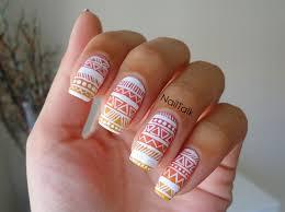aztec nail art nailtalk