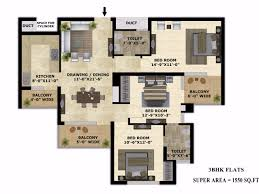 3 bhk apartment floor plan 30 lakhs to 40 lakhs 3 bhk apartments in zirakpur chandigarh
