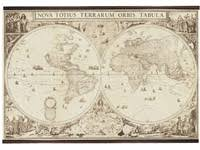 historical map reproductions world maps