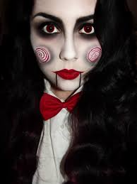 Halloween Costumes Makeup by Saw Special Billy The Puppet Costume Makeup Tutorials And Masks