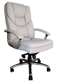 Computer Chair by Furniture Comfortable White Leather Executive Office Computer
