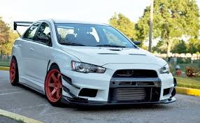 mitsubishi lancer evo modified mitsubishi evo on red volks tuners imports jdm pinterest