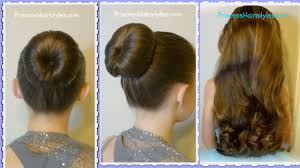 hair bun maker instructiins the perfect bun and no heat curls dance hairstyle tutorial