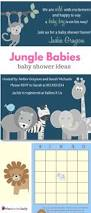 41 best baby shower jungle images on pinterest baby shower