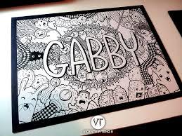 doodle with name doodle gabby by vicenteteng deviantart on deviantart doodle