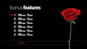 free encore menu templates wedding menu template adobe encore motion graphic theme