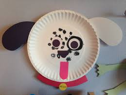 dalmatian paper plate craft dog craft preschool craft kids