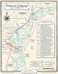 Williamsburg Virginia Map by Map The Yorktown Campaign Of 1781 George Washington U0027s Mount Vernon