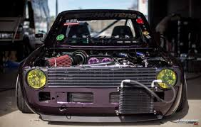 stanced jeep stanced volkswagen golf mk1 pickup angry engine