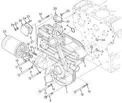 new holland l555 section 080 kubota v1902 b diesel engine gear case
