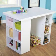 large square craft table chic wood craft space storage cabinet also picket fence martha