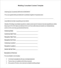 wedding photography contract template standard wedding