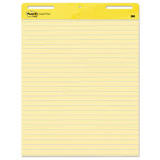 self stick paper self stick easel pads by post it easel pads mmm561 ontimesupplies com