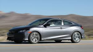 honda civic 2016 si spy shots this sporty looking honda civic coupe test mule could