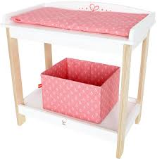 Changing Table Baby by Amazon Com Hape Kid U0027s Babydoll Wooden Changing Table Toys U0026 Games