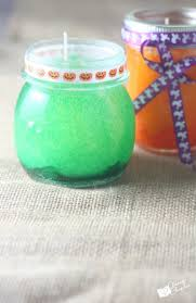 candles for halloween homemade diy candles easy craft for kids