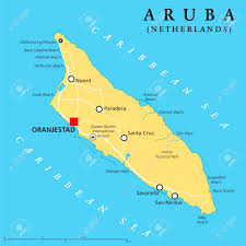 netherlands lighthouse map aruba political map with capital oranjestad and important cities