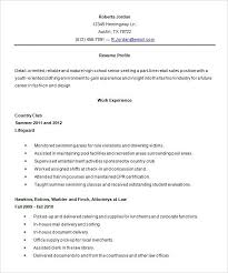 high student resume for summer internship high student resume objective for with experience also