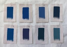 blue benjamin moore palette paints greek inspired cerulean and aegean blues