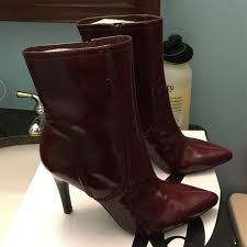 s boots nine 75 nine shoes nine burgundy boots from