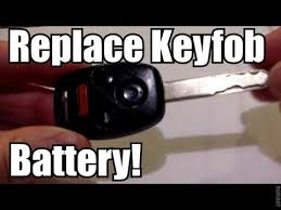 honda accord fob battery honda keyfob remote battery replacement how to