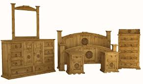 Rustic Bedroom Furniture Pine Bedroom And Wood Bedroom Furniture - Carlos furniture