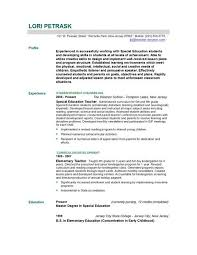 Sample Education Resumes by What Makes A Good Cover Letter For A Resume