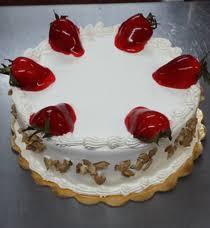 tres leches cake strawberries u0026 peaches f 9 lgv bakery