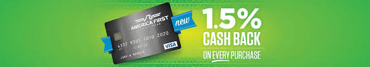 visa platinum credit card america first credit union