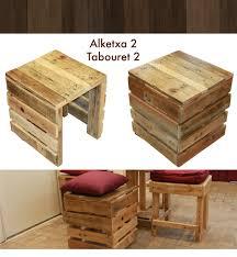 Table De Jardin En Palette De Bois by Tabouret En Bois De Palette Palettes Pinterest