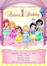 disney princess birthday invitations kawaiitheo com