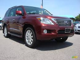 red lexus 2008 2008 noble spinel red mica lexus lx 570 65970289 gtcarlot com