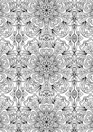 tiled pattern by welshpixie coloring pinterest tile patterns