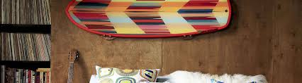wall mount gun hangers surfboard racks paddle board racks made locally in venice california