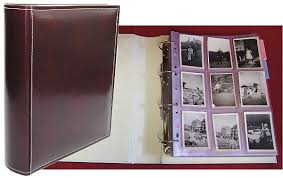 Photo Album Binder Archive Binders And Folders For Safe Long Term Storage Of Photographs