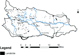 St Thomas Map Landslide Susceptibility Assessment For St Thomas Jamaica Using