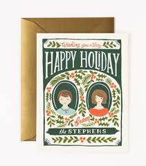 custom illustrated holiday berries cards illustration