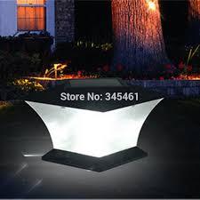 solar powered pillar lights buy solar column light and get free shipping on aliexpress com