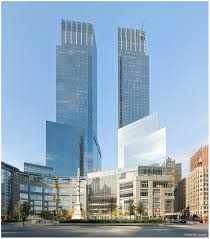 time warner center columbus circle by skidmore owings
