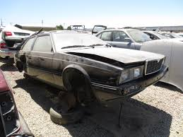 maserati biturbo sedan junkyard find 1984 maserati biturbo the truth about cars