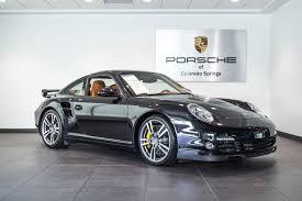 porsche 911 turbo sale 2011 porsche 911 turbo s for sale in colorado springs co p2616