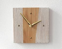 Modern Clocks For Kitchen by Small Wall Clock Etsy
