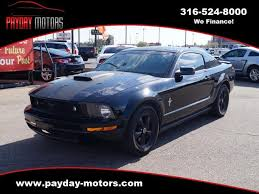 mustang wichita ks used 2007 ford mustang v6 deluxe coupe for sale x10572 wichita