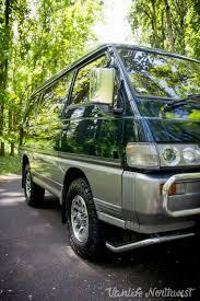 1991 mitsubishi delica l300 u2014 vanlife northwest